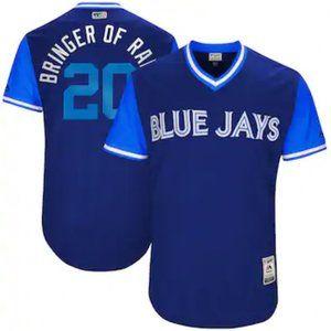 Toronto Blue Jays #20 Josh Donaldson 17/18 Jersey